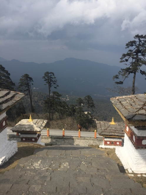 The Passes and Stupas of Bhutan